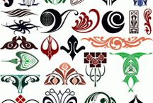 Design elements / In this category you can find a large number of ornamental design elements. / by Craftsmanspace Jan