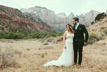 Zion Wedding-Jordan and Matt / Springdale Utah Zion Wedding Www.forevermoreevents.com / by Forevermore Events /Laura Stagg