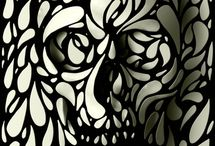 Skulls / The art and the Design of Skulls / by Bobby Valentine