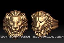 jewelry 3D print Bali 3D printer jewelry