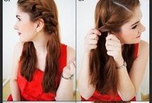 Hairstyles / Easy-to-do hairstyles for long hair