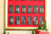 Advent calendars / Counting down the season.