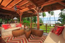 Luxury in the rainforest / Those little details that create luxury when staying in the rainforest always help to enhance the experience.  Playa Cativo Lodge in Costa Rica offers the opportunity to immerse in nature while staying in full comfort.