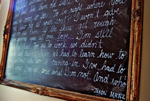 Chalkboard Treasures / by Norma Jean Mitchell