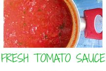 Sauce & Condiment Recipes / This board has recipes for sauces, dressings and condiments!