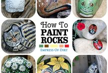 paint rock for gardens