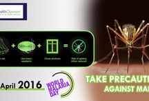‪World Malaria Day / Repel #Mosquitoes and Keep surroundings clean to prevent #Malaria.  http://www.healthopinion.net/