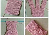 bandeaux tricot