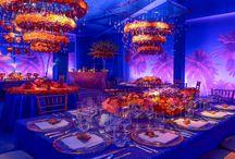 chandeliers flowers