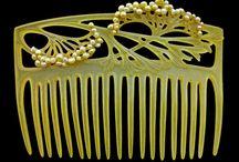 hair comb,cuff,bracelet,ring / by Sara Paul