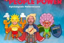 #GlobalGoals / Join Virgin Unite & Richard Branson by showing your support for the #GlobalGoals – get your cape on! #TellEveryone