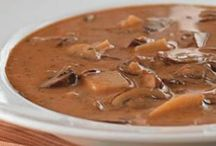 soups, stews and slow cooker recipes / by Andrea Talsma