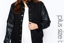 UK Plus Size Jackets & Blazers