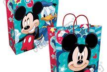Bolsas Regalo Mickey Mouse / Línea Envoltura Primavera