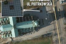 Zdjęcia lotnicze Łodzi