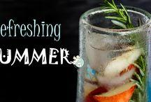 Refreshing SUMMER - Erfrischende Sommergetränke / Was tut besser im Sommer als ein kühles, leckeres Erfrischungsgetränk?