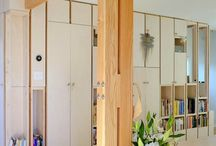 Estructura de madera.