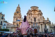 Virgen de la Fuensanta / Fotos de la Virgen de la Fuensanta de Murcia en su bajada y subida 2014.