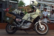 Travels by moto / motorcycles and travels