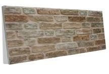 strafor taş ve tuğla paneller