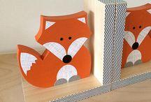 Home decor - CM's Fox Themed Bedroom