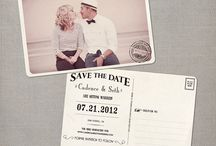 save the dates / by Kate Connolly