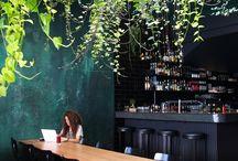 Café Designs / DESIGN in CAFES