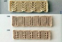 knitted  edging for projects