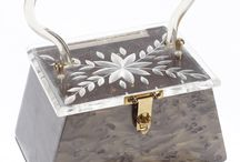 Vintage Handbags / Vintage purses and handbags from the past. Lucite box purses, leather clutch, designer vintage handbags and more!