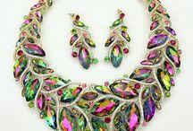 Collares de cristal