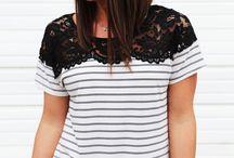 Tops / Blusas, remeras, top crop, t-shirt / by Veronica Reyes