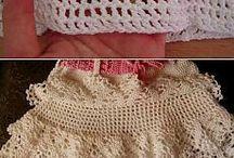sukně - háčkované