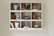Clever storage ideas / Be inspired by great storage solutions for living rooms, bedrooms, hallways, kids' rooms, kitchens and bathrooms
