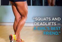Squats & deadlifts