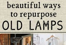 Refurbish old lamps