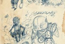 Sketches / by Carlos Oyarzun