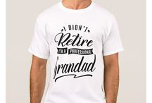 GRANDAD TEES / Gift ideas for Grandad! Tees, Hoodies and Long-sleeves available in the style and color of your choice! By Cido Lopez