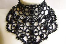 Ожерелья с бисером