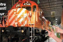 Saison 2015-2016 / 2015-2016 Season / #2015-2016 #promotion #trains #locomotives #tramways #streetcars #rail #railway #railfans #musée #museum #Familyactivities