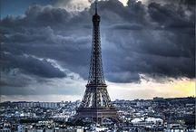 Capitals - Hovedsteder / Hovedsteder vi har besøkt. Noen bare en gang, men enkelte storbyer har en atmosfære som gjør at vi må tilbake flere ganger. Favoritten er, uten tvil, vakre og fascinerende Paris!