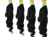 Indian human hair / All of our Indian Remy Hair Weft made from 100% Indian Hair of the highest quality grade - Remy Hair. When hair is harvested from a Indian donor, the cuticle remains intact. All hair strands is hand-picked & aligned to follow the same direction and be of the same length to ensure a high quality set. So Indian Remy Hair is very soft, exclusive beautiful and rare type of hair.