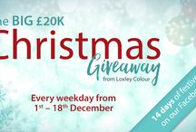 The BIG £20K Christmas Giveaway / Loxley Colour's £20,000 Christmas prize giveaway