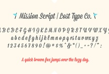 Fonts and swirls and doodles / by Erica Birnbaum