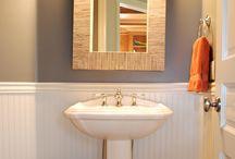 downstairs bathroom ideas / by Lauren Anderson