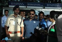 Salman Khan Gallery / Moviemanthra Salman Khan Snapped on Arrival Back Home and Salman Khan  Snapped on Arrives the Airport