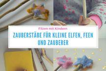 Filzliebe / Anleitungen, Ideen und Tipps rund ums Filzen, Filzen mit Kindern
