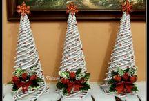 Paper spinning - Christmas / Papírfonás - Karácsony