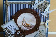 kaarten maken:maritiem/strand/zee