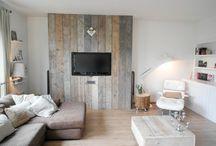 Palletwall steigerhout