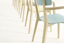 Wooden Bistro Chairs